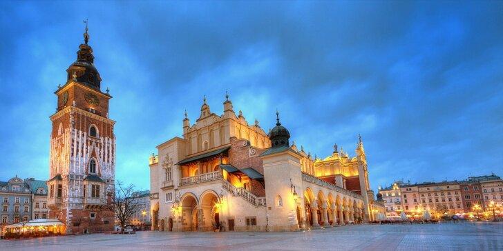 Čarovná dovolenka v centre Krakova v hoteli Wyspiański***