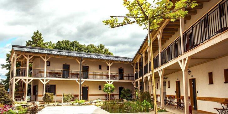 Rozprávková dovolenka v penzióne Meridiana so skvelou gastronómiou a vstupmi na vyhliadkovú vežu alebo do bazénov kúpeľov Bojnice