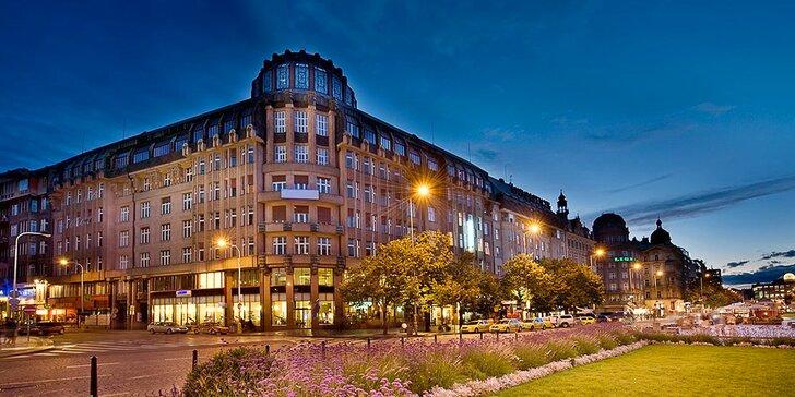 Pobyt priamo v centre diania: 4* hotel na krásnom Václavskom námestí