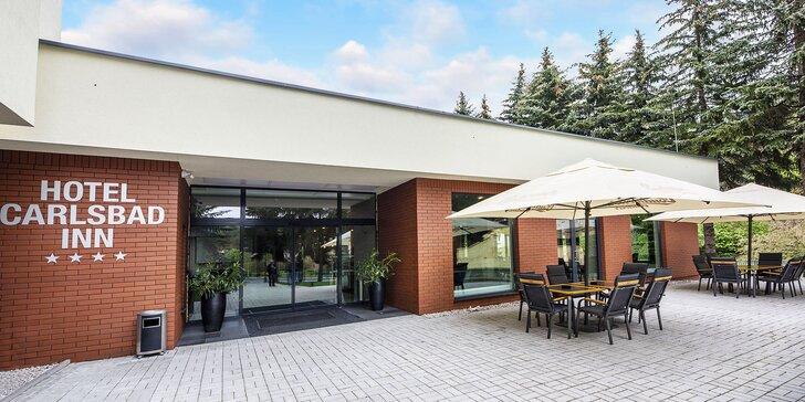 Príjemný pobyt v oáze pokoja a pohody so vstupom do privátneho SPA – Parkhotel Carlsbad Inn ****