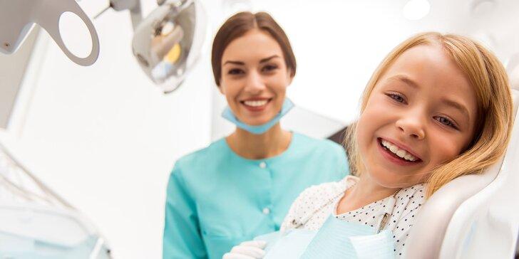 Profesionálne bielenie zubov a dentálna hygiena pre deti a dospelých