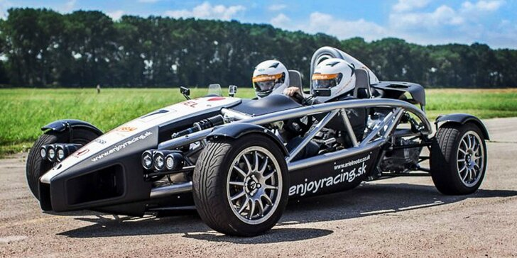 Jazda na jednom z najrýchlejších áut sveta! Ariel Atom!