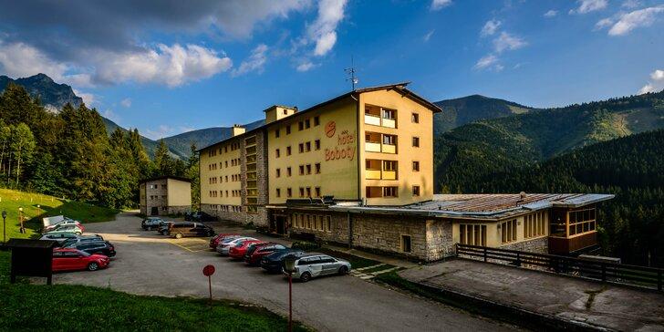 Dovolenka v horskom prostredí Malej Fatry v Hoteli Boboty *** aj s 50% zľavou na lanovku na Chleb