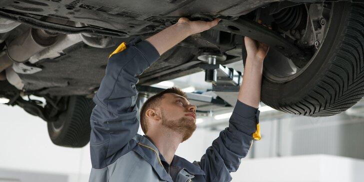 Celková kontrola vozidla, výmena oleja, filtrov či údržba klimatizácie
