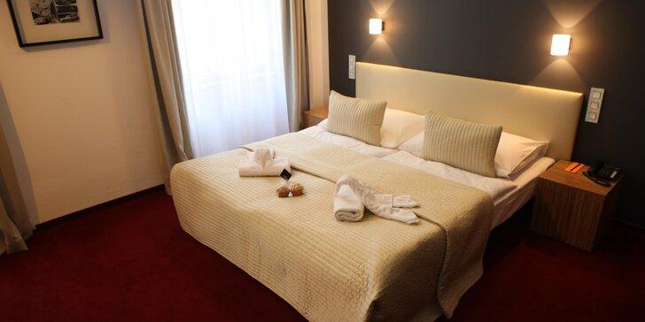 Romantika v centre Prahy - elegantný 4* hotel, komfortné ubytovanie a chutné raňajky