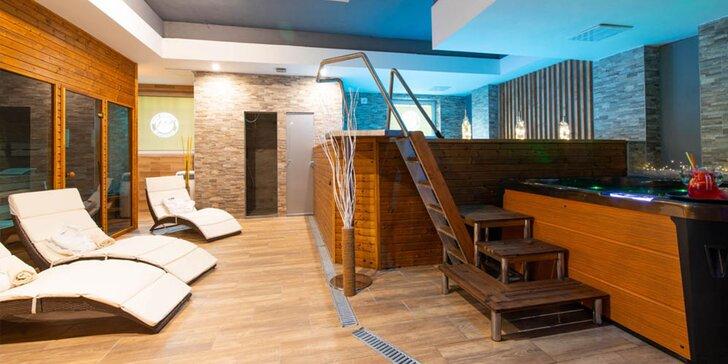 Privátny vstup do nového wellness centra v hoteli Modena***
