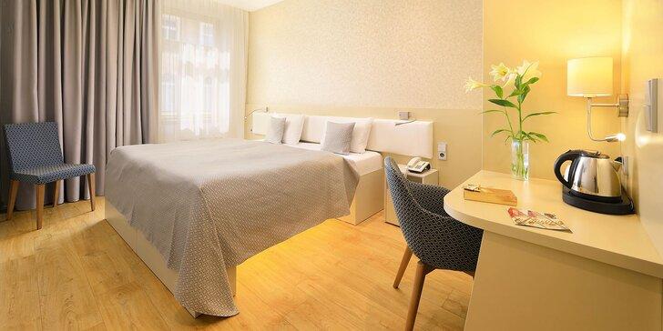 Pobyt s raňajkami v centre Prahy v 4 * hoteli Ametyst****