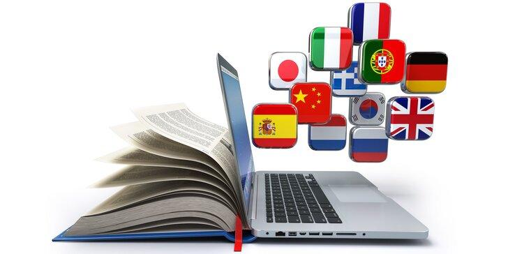 Certifikované 3, 6 alebo 12-mesačné online jazykové kurzy + 1 kurz ZADARMO