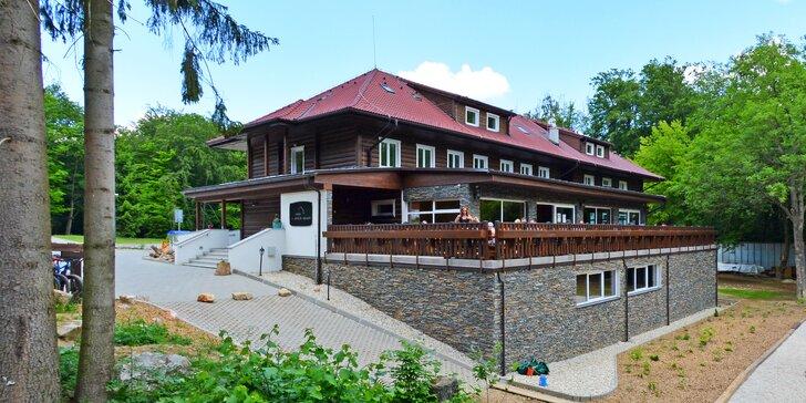 Relax v horskom prostredí v Chate pod Ostrým vrchom pri Trenčíne
