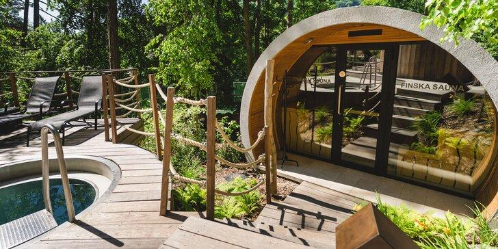 Pobyt s možnosťou vstupu na kúpalisko alebo saunový svet Zelená žaba