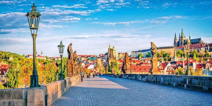 Čarokrásna Praha: pobyt s raňajkami pri Smíchovskom nádraží