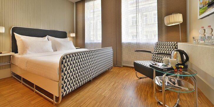 4* pobyt na Žižkově: moderný hotel a bohaté bufetové raňajky