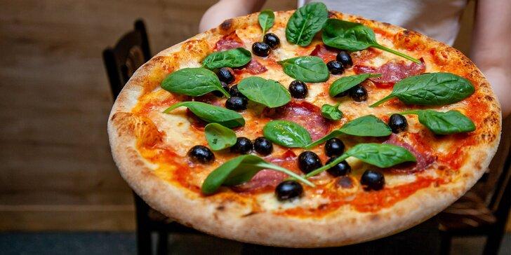 Vyskladajte si vlastnú pizzu v talianskej reštauracii Locanda