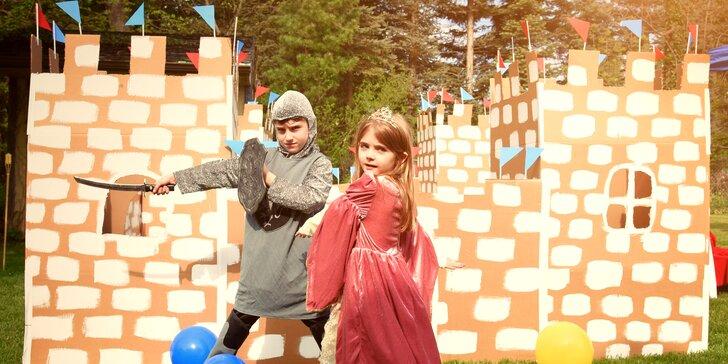 Letný tábor plný spoznávania histórie a hradov: pre deti od 7 do 13 rokov