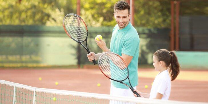 Leto plné zábavy a športu: detské tenisové tréningy 3+1 ZADARMO!