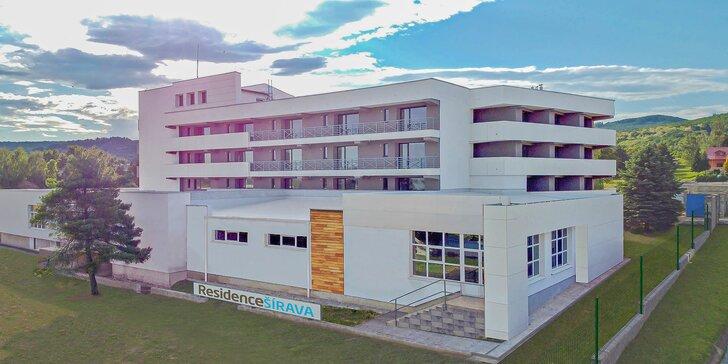 Pobyt v útulnom a modernom ADULT FRIENDLY komplexe Residence ŠÍRAVA*** apartmánový dom len 950 m od Thermalparku Šírava