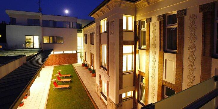 Hotel Sandor Pavillon**** v centre kúpeľného mestečka Piešťany: wellness pobyt s polpenziou