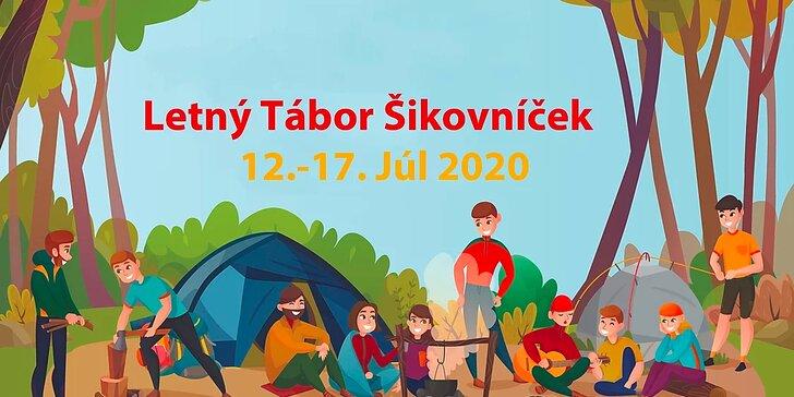 Letný tábor Šikovníček pre všetky šikovné deti