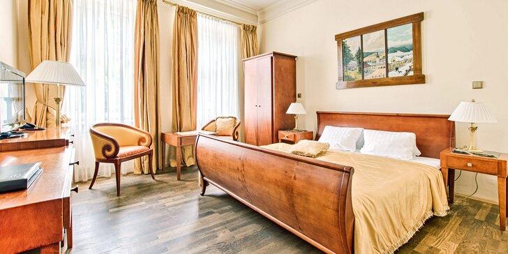 Relax v horskom mestečku Štramberk - polpenzia, luxusný historický hotel a Lašské kúpele