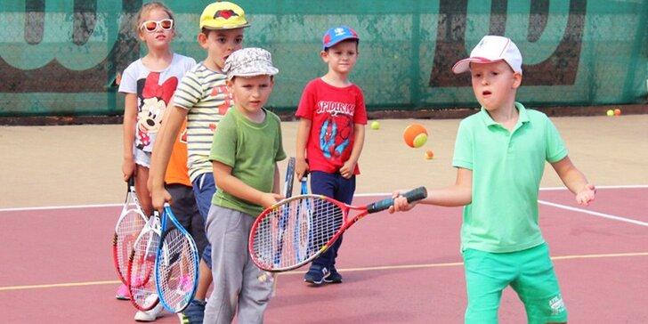 Denný tenisový tábor pre deti od 6 do 14 rokov