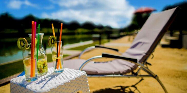 Letný pobyt v Hoteli Kormorán**** s hotelovou plážou