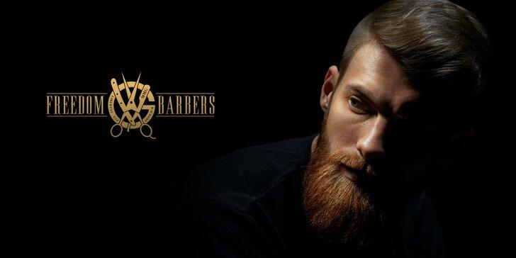 Dokonalý pánsky strih v MMG Freedom Barbers & Shop