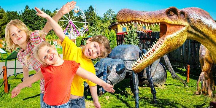 Navštívte park plný nielen dinosaurov: 2-denné vstupenky do Zatorlandu