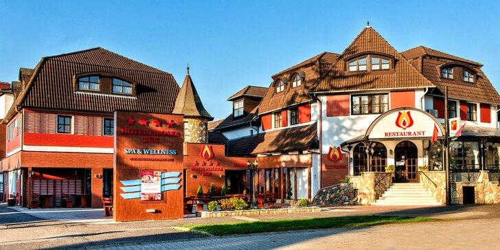 Príjemná rodinná dovolenka so vstupom do preslávených maďarských kúpeľov Bükfürdő