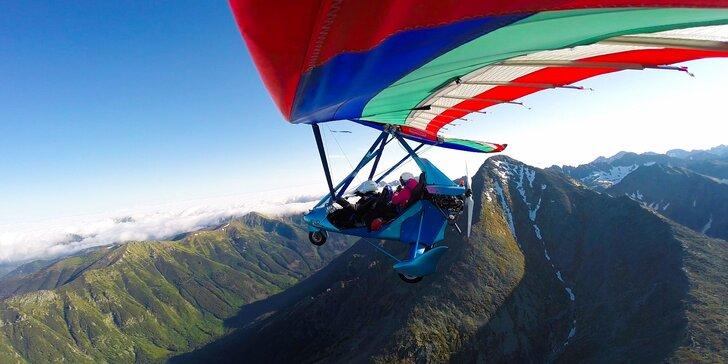 Dotknite sa oblohy pri nezabudnuteľnom lete rogalom ponad Vysoké Tatry!