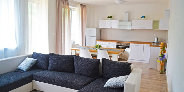 Priestranné apartmány v Bardejovských kúpeľoch: v ponuke i variant so vstupom do wellness