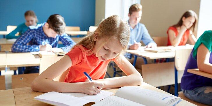 Prípravný kurz na osemročné gymnáziá pre žiakov 5. ročníka ZŠ - aj online!