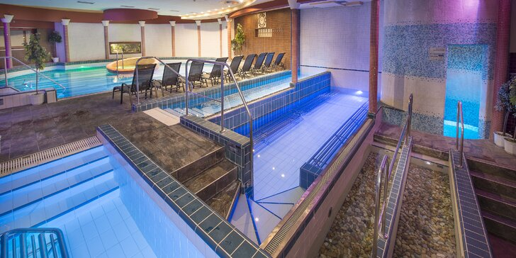 Leto v hoteli Therma**** s bazénovým svetom, neobmedzeným wellness a možnosťou celodenného vstupu do Thermalparku Dunajská Streda
