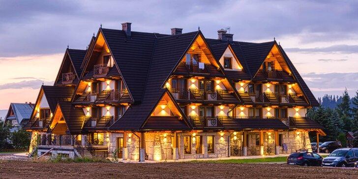 Poľské Tatry s wellness a vstupmi do Terma Bania - pobyt v lone prírody