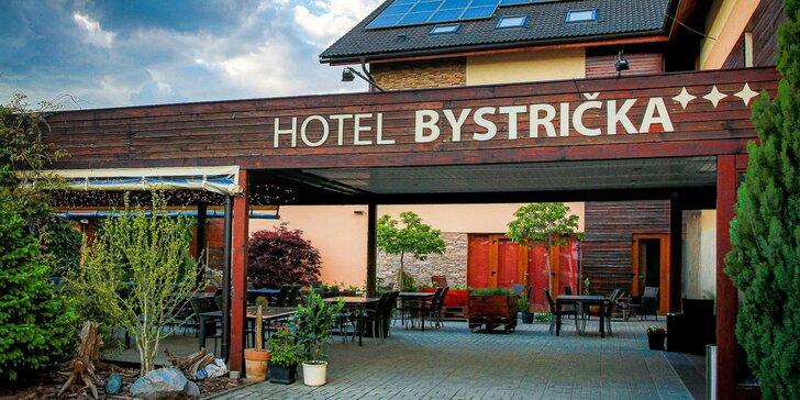 Pohodová dovolenka pod Martinskými hoľami v Hoteli Bystrička***