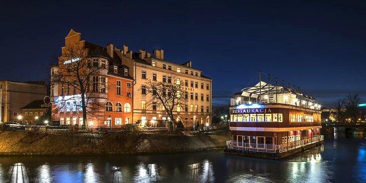 Romantický pobyt v centre historického Vroclavu so stravou aj so vstupom do aquaparku