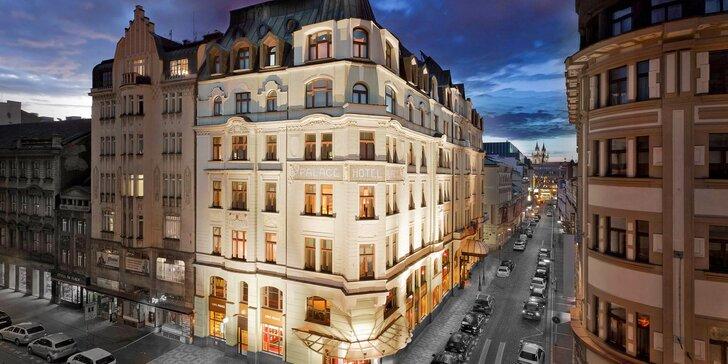 Pobyt v luxusnom hoteli pri Václavskom námestí: komfortné ubytovanie a bohaté raňajky