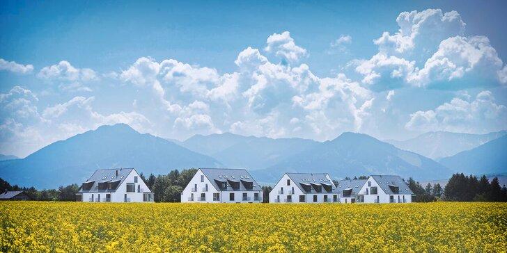 Dovolenka v novovybudovanom rezorte MALADINOVO pre páry a rodiny s deťmi: super lokalita pri Tatralandii