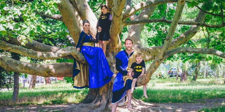 Kráľovské leto pre malých rytierov a princezné