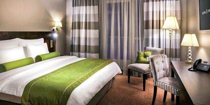 Pobyt v luxusnom hoteli Cosmopolitan v centre Prahy a raňajky u Zdeňka Pohlreicha