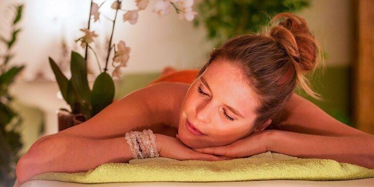 Ayurvédske masážne balíčky HAPPY HOURS - aj pre páry