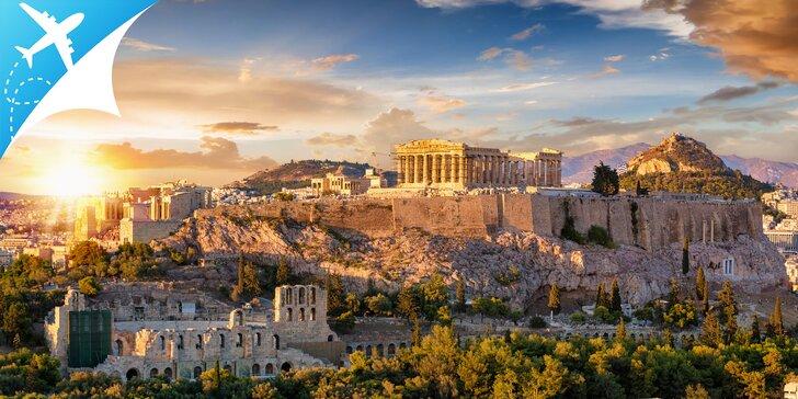 Atény: slnko, more, história