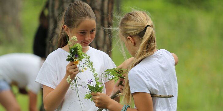 Zábavno-vzdelávacie programy pre deti v lesnom prostredí Krásne Sady