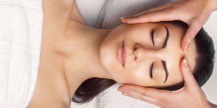 Regeneračná masáž tváre, Lash lift či balíček úpravy obočia, mihalníc a hornej pery