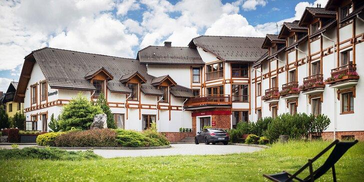 Romantický alebo rodinný pobyt vo Wisłe - krása poľských Beskýd, polpenzia a zmodernizovaný wellness