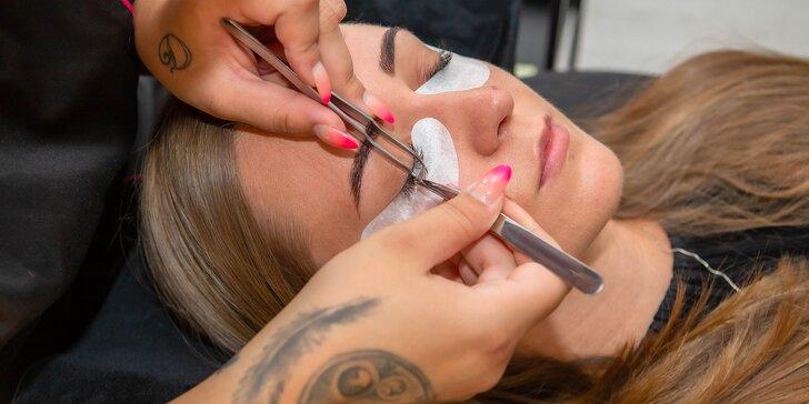 Dokonalé mihalnice s objemom: lash lifting & botox či 3D riasy