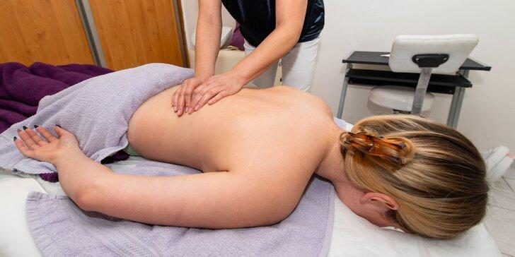 Klasická či reflexná masáž v salóne Ester