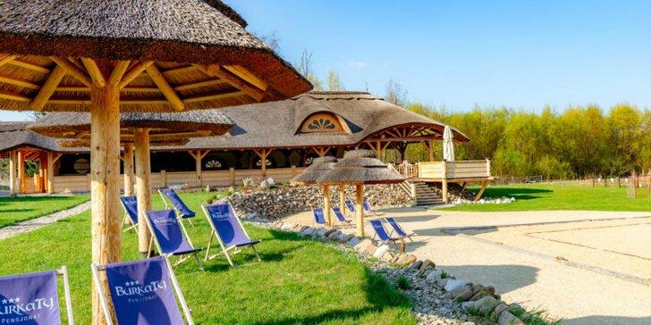 Dovolenka v Białke Tatrzańskej: neobmedzené wellness a súkromná piesočnatá pláž s výhľadom na Tatry