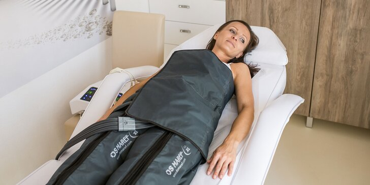 Prístrojová lymfodrenáž, zábalová aromaterapia či rádiofrekvencčná liposukcia
