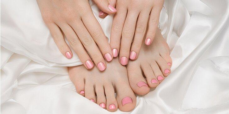 Krásne upravené nohy aj ruky vďaka manikúre a pedikúre v Golden relax