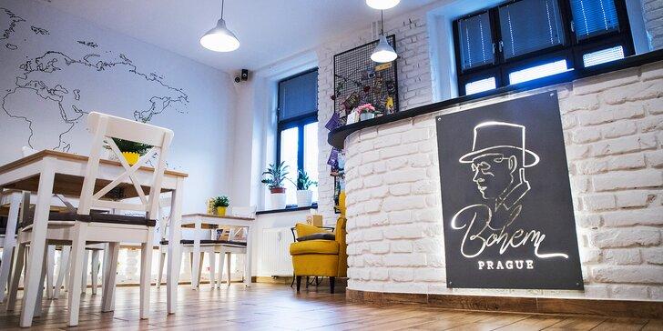 Jeseň v pražskej štvrti Smíchov: pobyt v hoteli s raňajkami